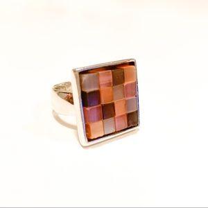 Artisan Mosaic Ring